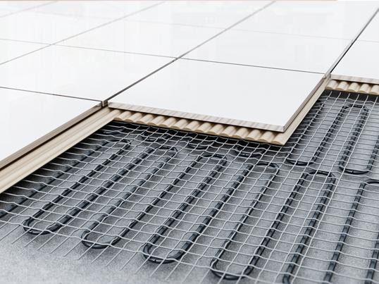 Betonvloer isoleren met vloerverwarming